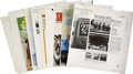 Music Memorabilia:Memorabilia, Beach Boys and Others Assorted Cover Proofs. Very Finecondition.... (Total: 11 Items)
