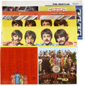 Music Memorabilia:Memorabilia, Beatles Sgt. Pepper and Others Unused Album Slicks. ... (Total: 6 Items)
