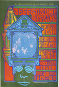 Music Memorabilia:Posters, Jefferson Airplane/Grateful Dead/Big Brother and the HoldingCompany Hollywood Bowl Concert Poster BG-81 (Bill Graham,1967)14...