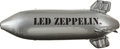 "Music Memorabilia:Memorabilia, Led Zeppelin 30"" x 25"" Inflatable Promo Blimp...."