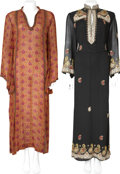 Movie/TV Memorabilia:Costumes, Dixie Carter Indian Gowns by Raksha and Judith Ann.... (Total: 2 Items)