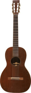 Musical Instruments:Acoustic Guitars, Martin Small-Body Mahogany Finish Acoustic Guitar (1926) Condition:Very Good.. ...