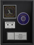 Music Memorabilia:Awards, Elton John The One RIAA Platinum Sales Award....
