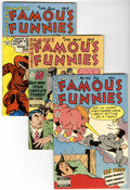 Golden Age (1938-1955):Miscellaneous, Famous Funnies File Copy Group (Eastern Color, 1951) Condition: VF/NM.... (Total: 6 Items)