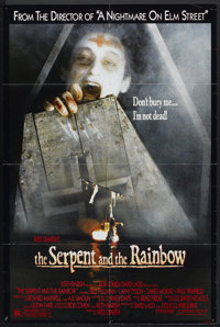 "The Serpent and the Rainbow (Universal, 1987). One Sheet (26.25"" X 40""). Horror"