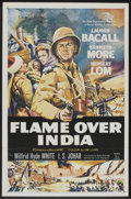 "Movie Posters:Adventure, Flame Over India (20th Century Fox, 1960). One Sheet (27"" X 41"")and Pressbook (Multiple pages, 13"" X 16.5""). Adventure.... (Total:2 Items)"