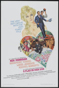"""Movie Posters:Comedy, A Flea in Her Ear (20th Century Fox, 1968). One Sheet (27"""" X 41"""") and Press Book (Multiple Pages, 9"""" X 13.75""""). Comedy.... (Total: 2 Items)"""