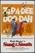 "Movie Posters:Animated, Song of the South (Buena Vista R-1972). One Sheet (27"" X 40.5"") andPress Book (Multiple pages, 9"" X 11.75""). Animated.. ... (Total: 2Items)"