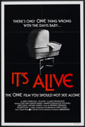"""Movie Posters:Horror, It's Alive (Warner Brothers, 1976). One Sheet (27"""" X 41"""") Style B. Horror.. ..."""
