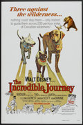"Movie Posters:Adventure, The Incredible Journey Lot (Buena Vista, R-1974). One Sheets (2)(27"" X 41""). Adventure.. ... (Total: 2 Items)"