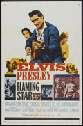 """Movie Posters:Elvis Presley, Flaming Star (20th Century Fox, 1960). One Sheet (27"""" X 41"""") andPressbook (Multiple pages, 16.5"""" X 13""""). Elvis Presley.... (Total:2 Items)"""
