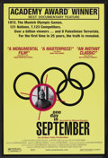 "Movie Posters:Documentary, One Day in September (Sony Pictures Classics, 2000). One Sheet (27"" X 41""). Documentary.. ..."