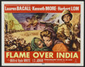 """Movie Posters:Adventure, Flame Over India (20th Century Fox, 1960). Lobby Card Set of 8 (11""""X 14""""). Adventure.. ... (Total: 8 Items)"""