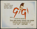 """Movie Posters:Musical, Gigi (MGM, 1958). Lobby Card Set of 8 (11"""" X 14""""). Musical.. ... (Total: 8 Items)"""