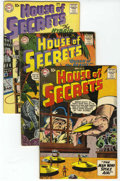 Silver Age (1956-1969):Mystery, House of Secrets Group (DC, 1958-74) Condition: Average GD....(Total: 19 Comic Books)
