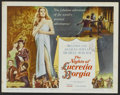 "Movie Posters:Romance, The Nights of Lucretia Borgia (Columbia, 1960). Lobby Card Set of 8 (11"" X 14""). Romance.. ... (Total: 8 Items)"