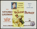 "Movie Posters:Adventure, The Violent Patriot (Releasing Corporation of IndependentProducers, 1956). Title card and Lobby Cards (6) (11"" X 14"").Adve... (Total: 7 Items)"