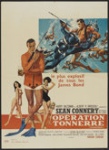 "Movie Posters:James Bond, Thunderball (United Artists, 1965). French Affiche Moyenne (23.5"" X 31.5""). James Bond.. ..."