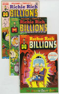 Bronze Age (1970-1979):Cartoon Character, Richie Rich Billions File Copy Group (Harvey, 1974-82) Condition:Average NM.... (Total: 45 Comic Books)