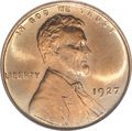 Lincoln Cents, 1927 1C MS67 Red PCGS....