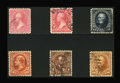 Stamps, 1894-98, Bureau Issues Grouping. (Used)....