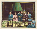 "Movie Posters:Horror, The Invisible Ray (Universal, 1935). Lobby Card (11"" X 14"").. ..."