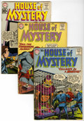 Silver Age (1956-1969):Horror, House of Mystery Group (DC, 1960-77) Condition: Average GD/VG....(Total: 15 Comic Books)