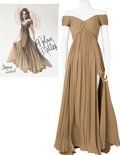 Movie/TV Memorabilia:Costumes, Nolan Miller Designed Gown for Sophia Loren.... (Total: 2 Items)