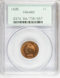 Proof Indian Cents: , 1895 1C PR64 Red PCGS. PCGS Population (41/45). NGC Census: (6/22). Mintage: 2,062. Numismedia Wsl. Price for NGC/PCGS coin...