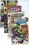 Modern Age (1980-Present):Superhero, The Amazing Spider-Man Group (Marvel, 1987-92) Condition: AverageNM.... (Total: 65 Comic Books)