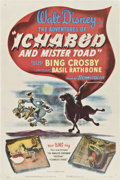 "Movie Posters:Animated, The Adventures of Ichabod and Mr. Toad (RKO, 1949). One Sheet (27""X 41"").. ..."