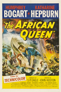 "The African Queen (United Artists, 1952). One Sheet (27"" X 41"")"