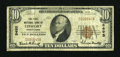National Bank Notes:Pennsylvania, Leesport, PA - $10 1929 Ty. 1 The First NB Ch. # 9495. ...