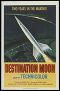 "Movie Posters:Science Fiction, Destination Moon (Pathé, 1950). One Sheet (26.75"" X 41""). ScienceFiction.. ..."