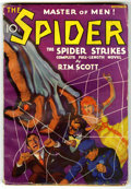 Pulps:Hero, The Spider - October 1933 (Popular, 1933) Condition: VG....