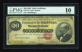 Large Size:Gold Certificates, Fr. 1178 $20 1882 Gold Certificate PMG Very Good 10....