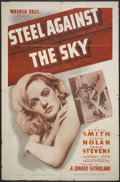 "Movie Posters:Action, Steel Against the Sky (Warner Brothers, 1941). One Sheet (27"" X 41""). Action.. ..."