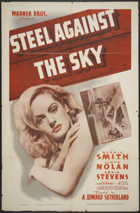 "Steel Against the Sky (Warner Brothers, 1941). One Sheet (27"" X 41""). Action"