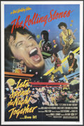 "Movie Posters:Rock and Roll, Let's Spend the Night Together (Embassy, 1983). One Sheet (27"" X 41"") and Program (9"" X 14""). Rock and Roll.. ... (Total: 2 Items)"