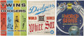 Autographs:Others, 1959-65 Signed World Series Programs Lot of 3....