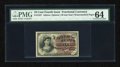 Fractional Currency:Fourth Issue, Fr. 1257 10c Fourth Issue PMG Choice Uncirculated 64....