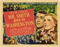 "Movie Posters:Drama, Mr. Smith Goes to Washington (Columbia, 1939). Title Lobby Card and Lobby Card (11"" X 14"").. ... (Total: 2 Items)"