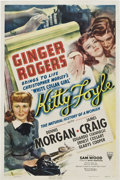 "Movie Posters:Drama, Kitty Foyle (RKO, 1940). One Sheet (27"" X 41"").. ..."
