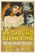 """Movie Posters:Western, My Darling Clementine (20th Century Fox, 1946). One Sheet (27"""" X 41"""").. ..."""