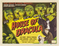 "Movie Posters:Horror, House of Dracula (Realart, R-1950). Title Lobby Card (11"" X 14"")....."