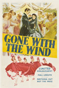 "Movie Posters:Romance, Gone with the Wind (MGM, 1939). One Sheet (27"" X 41"") Style DP....."