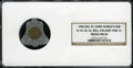 Expositions and Fairs, 1904 Medal MO, St. Louis World's Fair, H-14-10, AL, Bell, EncasedCent MS62 NGC....