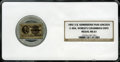 Expositions and Fairs, 1892-3 Medal IL Admissions Pass-Lincoln, E-40A, Worlds ColumbianExpo MS61 NGC. ...