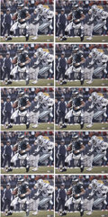 Football Collectibles:Others, Donovan McNabb Signed Oversized Photographs Lot of 10....