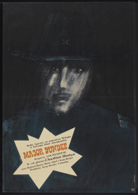 "Major Dundee (Columbia, 1967). Polish One Sheet (22.5"" X 32.25""). Western"